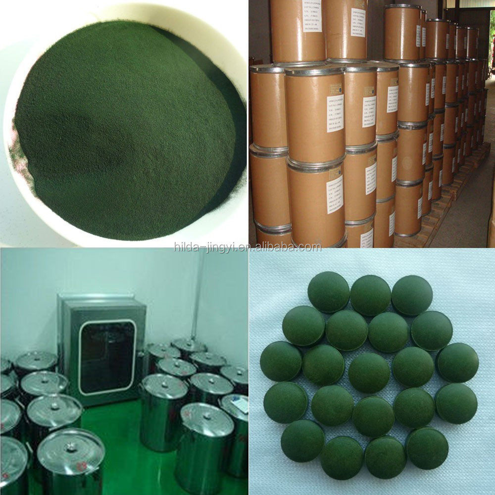 100% pure health food Spirulina powder
