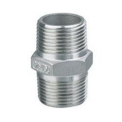 High pressure stainless steel hex nipple pipe fitting