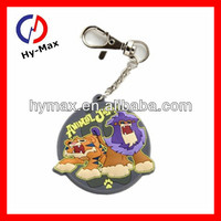The Original Supplier/3D cartoon cat soft PVC key holder/christmas gift