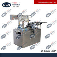 Low Price playing card cellophane wrapping machine