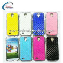 Luxury Thin Aluminum Diamond Crystal Chrome Case for Samsung Galaxy S4 i9500