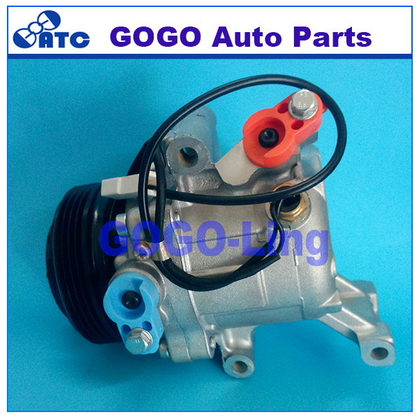 SV07C Auto A/<strong>C</strong> Compressor for Toy ota Passo Daihatsu Terios Boon Sirion OEM 88310-B1070 8320-B1020 88410-B1030 447190-6620