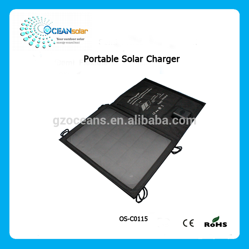 Best selling multi-function portable solar panel charger for sale