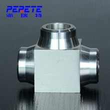 Stainless steel/Carbon Steel Galvanized Pipe Fitting Forged Butt Weld Fitting Tee