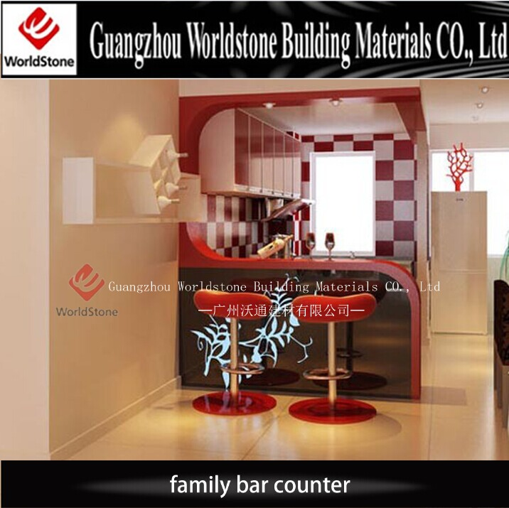 Artificial Marble New Design Home Bar Counter Sale, View Bar