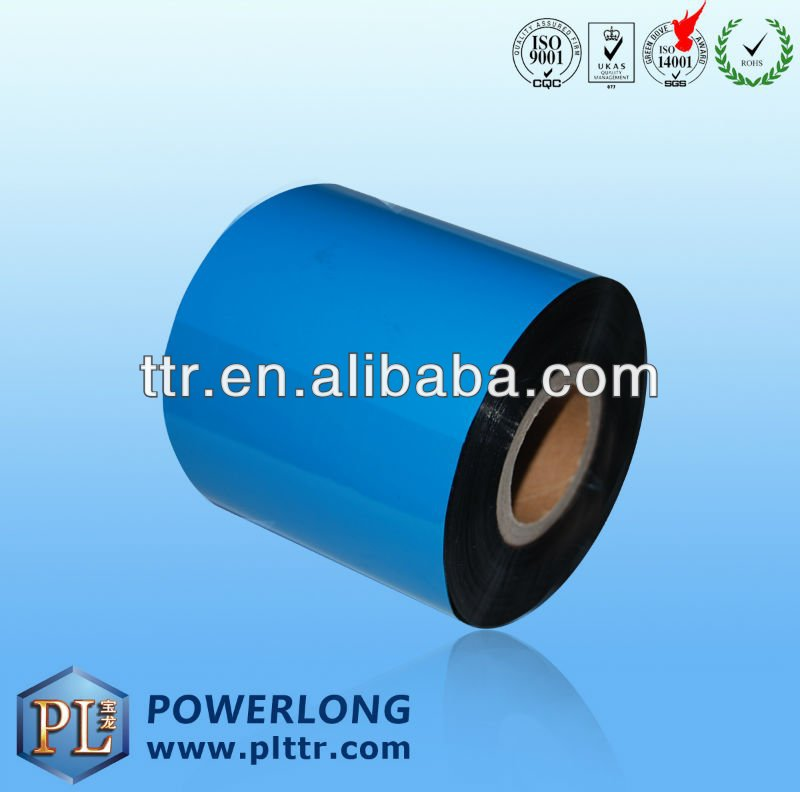 thermal printer ribbon for silk ribbon printer(CE+ROHS)