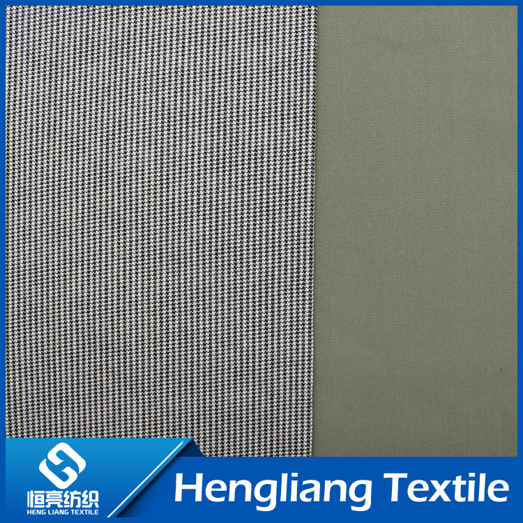 Knitted denim fabric elastic comfort breathable denim fabric double dyeing its fine twill fabric