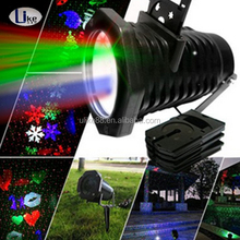 2017 Hot sale laser light show colorful christmas laser light projector romantic merry christmas projector