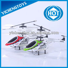 hot sale 3 channel alloy double blade storm rc helicopter