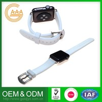 Oem Odm Watch Silicon Bands Wholesale Price Various Colors Silicone Band Strap For Apple Watch Band