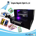 digital small A4 uv glass embossed printer, tile uv printer