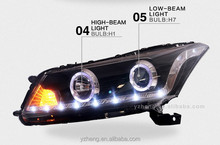 CE CCC certifications bi-xenon HID projector lens light angel eyes led automotive headlight lamps xenon headlights for cars