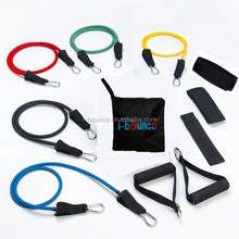 Fitness resistance band kit 11pcs per set