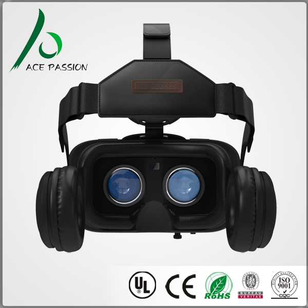 2017 new trending virtual reality headset all in one vr