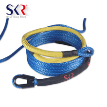 SKR High Quality 8mm synthetic winch rope