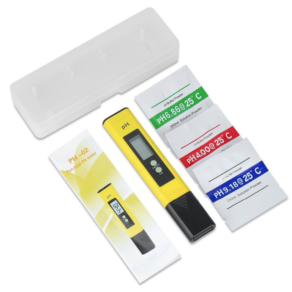 New! Pentype Digital pH/Temp tester liquid pH meter