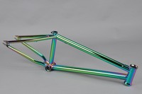 Chromoly4130 Butted oil slick frame fox bmx bike