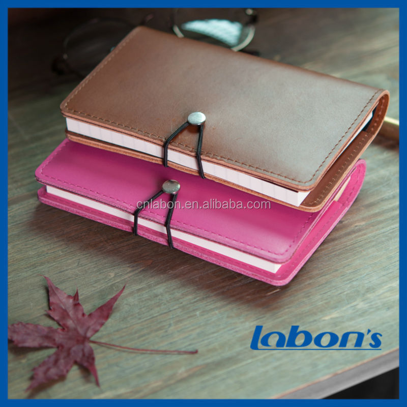 Leather Vintage Style Notebook And Journal With String