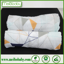 Meibobaby Brand 100% Cotton Muslin Swaddle Blanket