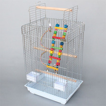 top open zinc plating african grey parrot cage A20
