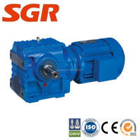 s series hollow shaft helical worm reduction forward reverse gearbox