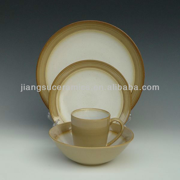 stoneware plate dinner set ceramic tableware tabletop crockery