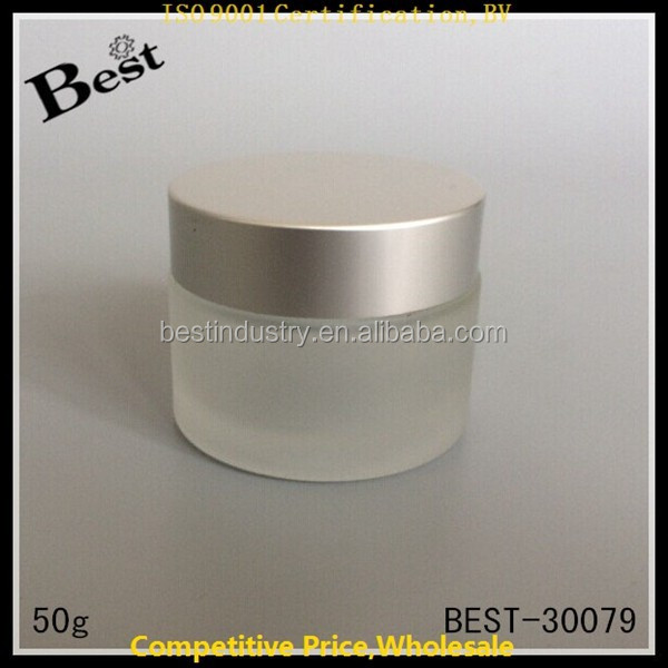 Wholesale New Product Empty Jar Containers Cosmetic Cream Lotion Bottles with Cap Makeup Craft Ointment 50 / 100 ml for Sale