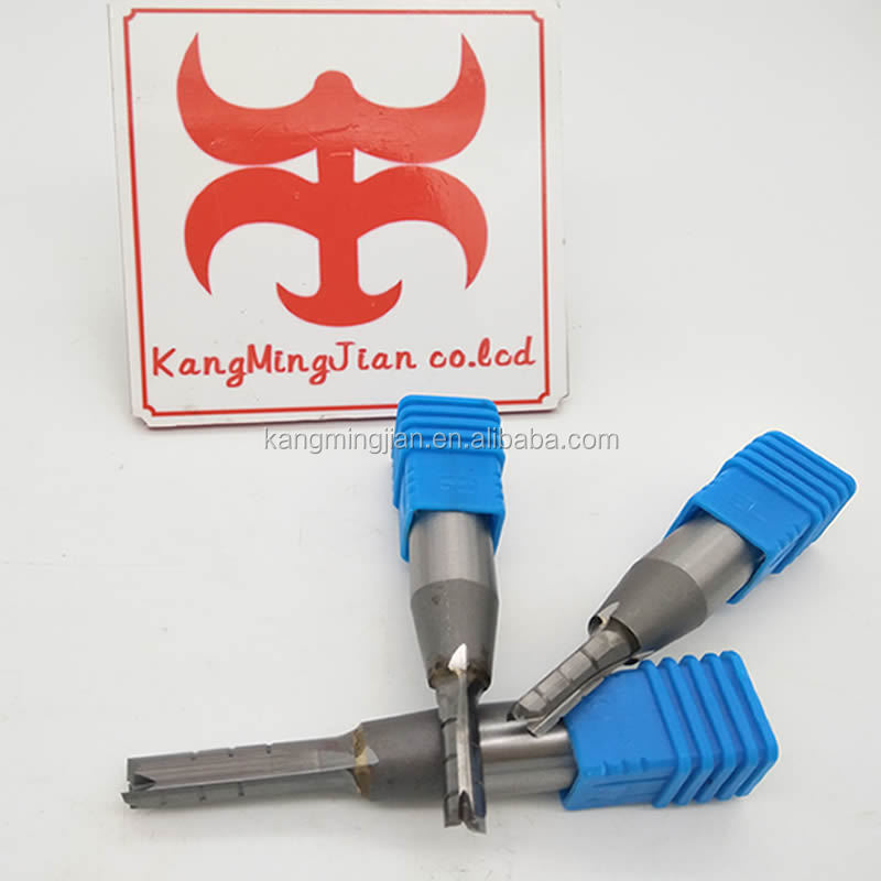 CNC three-flute rough-milling cutter TCT router bit for hardwood and MDF
