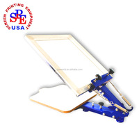 SPE-ZMD one color screen press manual single color screen printing machine