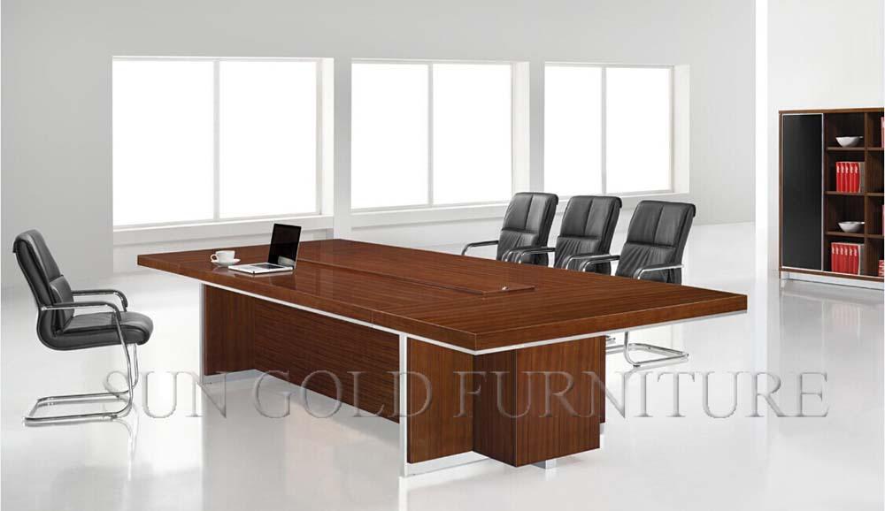 Rectangular Wooden Melamine Boardroom Table Conference Table Of - Wooden boardroom table
