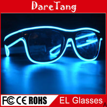 Cool Concert Shutter Shades EL Wire Flashing glasses For Playing