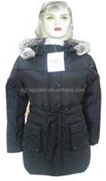 2015 stock lots Lady Hoody Padded Jacket