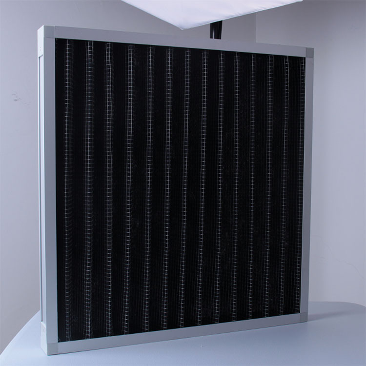 Smoke filter panel filter for air conditioner