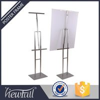 Popular Stainless Steel Advertising Banner Trade Show Stand