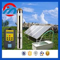 solar powered 2 hp small well submersible water pump