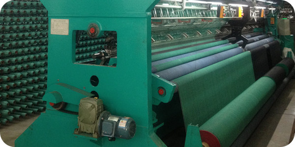 HDPE Knitted shade fabrics for agricultural greenhouses