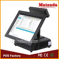POS Manufacturer Fanless All in One Point of Sale POS System with Printer