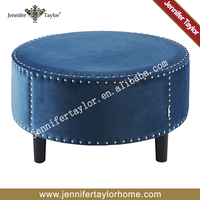 Removable wooden foot stool/low wooden stool /sofa footrest