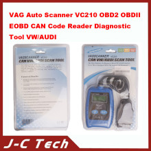 VAG Auto Scanner VC210 OBD2 OBDII EOBD CAN Code Reader Diagnostic Tool VW for AUDI