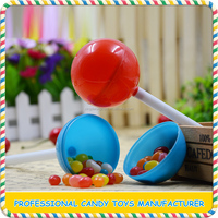 Wholesale low price kids lollipop candy toys