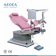 AG-S104A mechanical gynecological examination chair birth bed with shadowless lamp