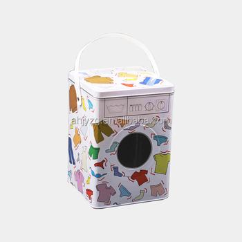 metal washing machine box