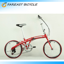 20 Inch Folding Bicycle 6 Speed Foldable Cycling Sport Bike With Disc Brake