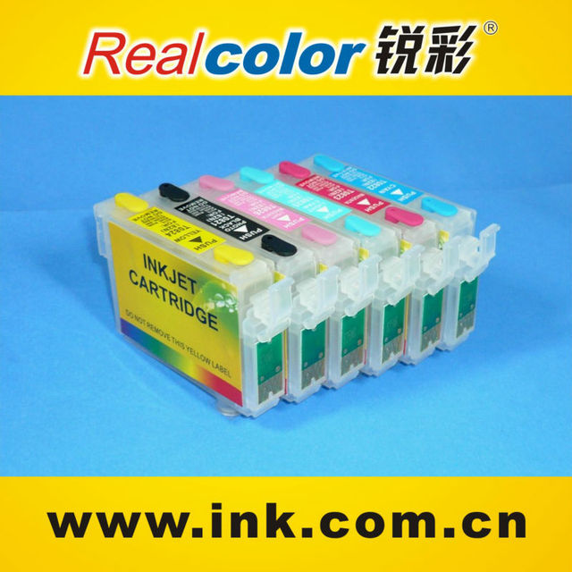refill ink cartridge for epson 1390 printer ink cartridge