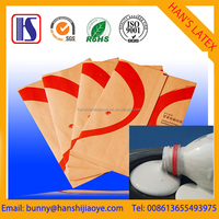Han's hot sales water-based OEM White Hot press flim laminating adhesive for print