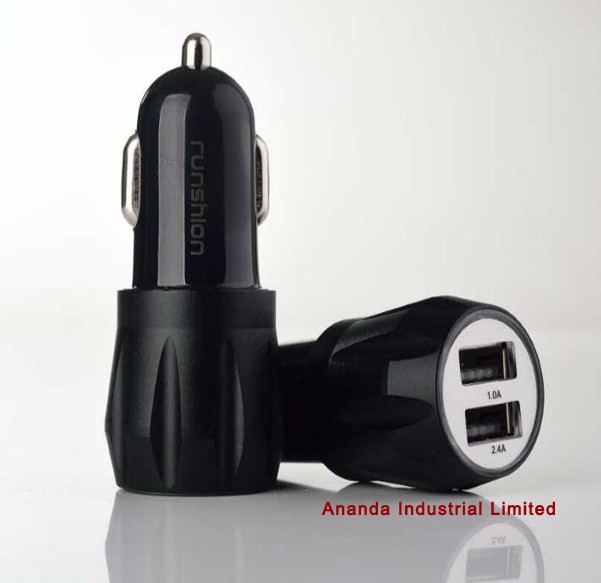 Colorful RoHS 5V 2.1A Quick usb car charger with 2A output quick