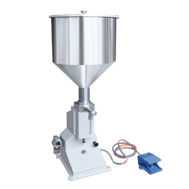 <strong>A02</strong> Pneumatic Filling machine/vertical pneumatic filling machine/small pneumatic paste liquid filling machine