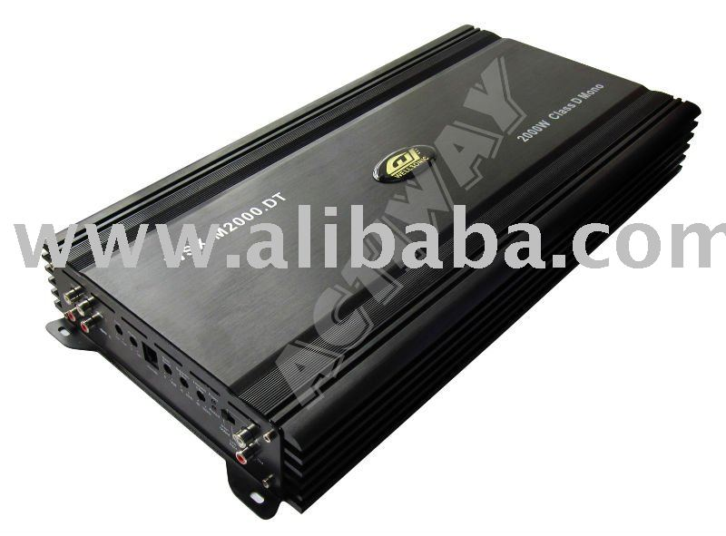 Mono Class D 2000W high power car amplifier (Actiway)