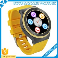 2016 SIM watch phone 3G wifi smart watch android 5.1 with heart rate monitor
