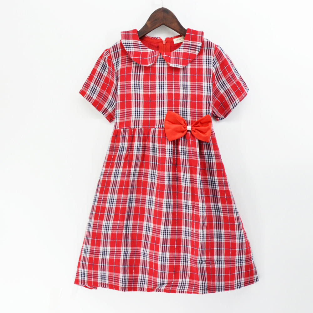 European popular design party wear dresses for children girls